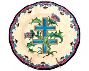 Assiette Croix de Lorraine (Tradition)