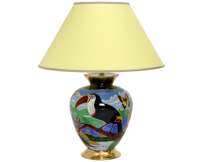 Lampe Cyclade PM (Toucans)