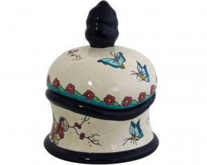 Boite Tibet Fleurs et Papillons  (Tradition)