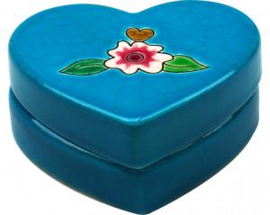 Boîte Coeur Plate Standard (I Love Longwy)