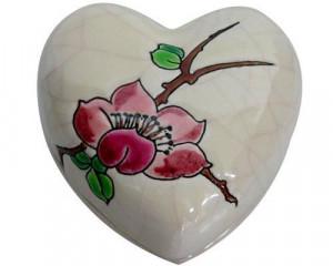 Boite Coeur PM + Cartouche Fleurs (Coeur)