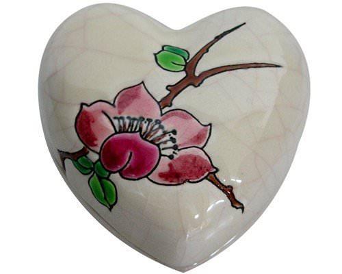 Boite Coeur Standard + Cartouche Fleurs