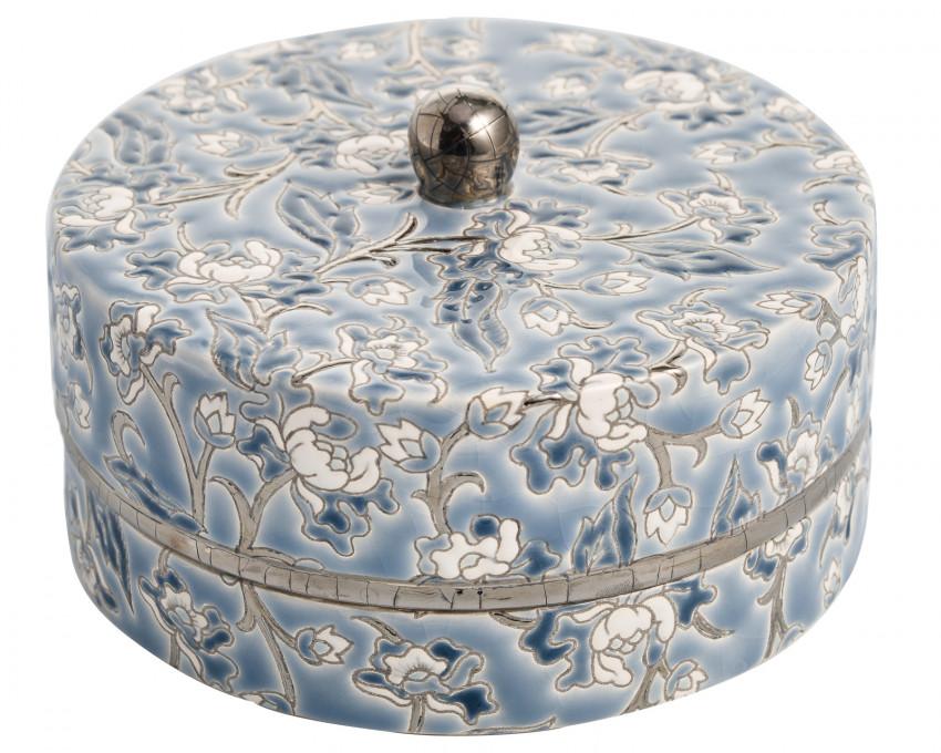 Boîte à Caviar G.M. Gris - D5675 Mini - (Héritage)