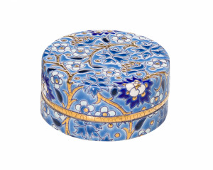 Boîte à Caviar P.M. (Héritage) Bleu