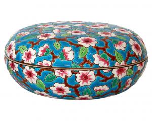 Boîte Ronde Fleurs de Pommiers (Traditions)