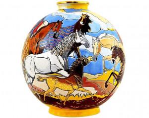 Boule Coloniale (Ronde Equestre)
