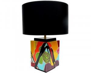 Lampe Carrée (Eclats de Temps)