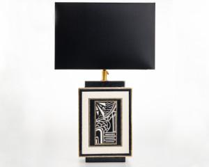 Lampe Carrée (Motifs)
