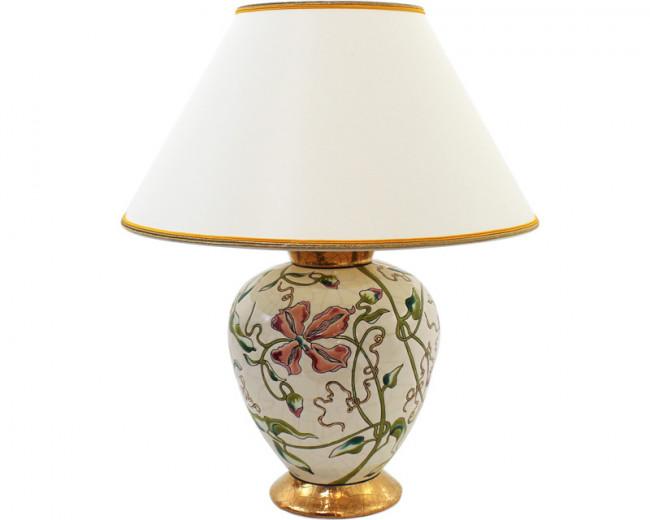 Lampe Cyclade PM - Ivoire (Hommage à Emile Gallé)