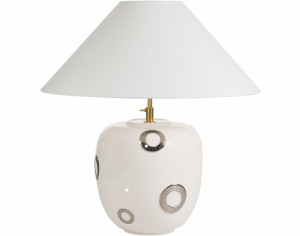 Lampe Standard (Bulles Uni et Or)