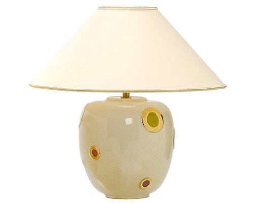 Lampe Ronde PM (Bulles Décorées)