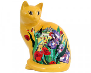 Chat Assis GM (Iris et Coquelicots)