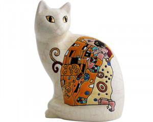Chat Assis Standard (Hommage à Klimt)
