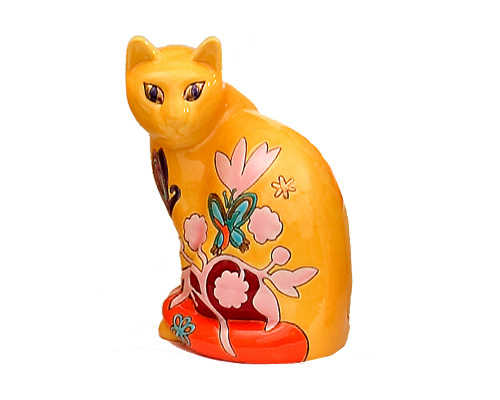 Chat Assis Standard (H. 18 cm)