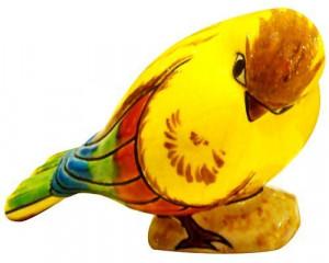 Oiseau Dormant décoré (Animaux)