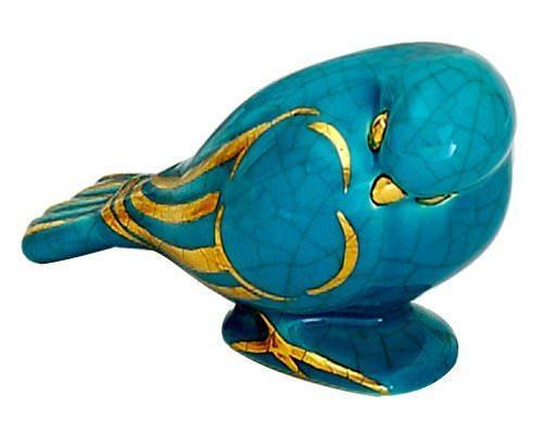 Oiseau Dormant uni et or (Animaux)