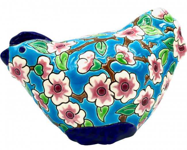 Poule PM - Fleurs de Pommiers - D188 (Tradition)