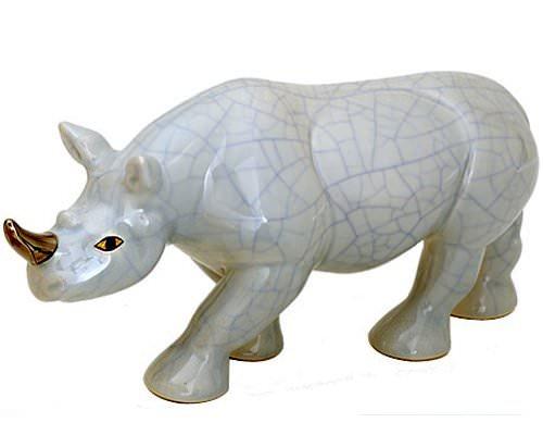 Rhinocéros Uni et Or (Animaux)