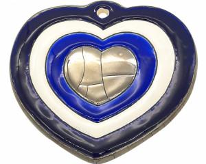 Coeur décor coeurs (Décoration Noël)