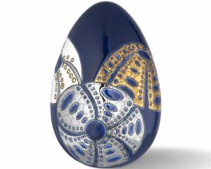 Oeuf Taille 2 (Oursins) Bleu