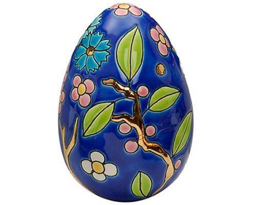 Oeuf Taille 2 (Fleur Bleue)