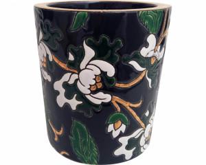 Pot à Bougie + Bougie (Héritage) Noir