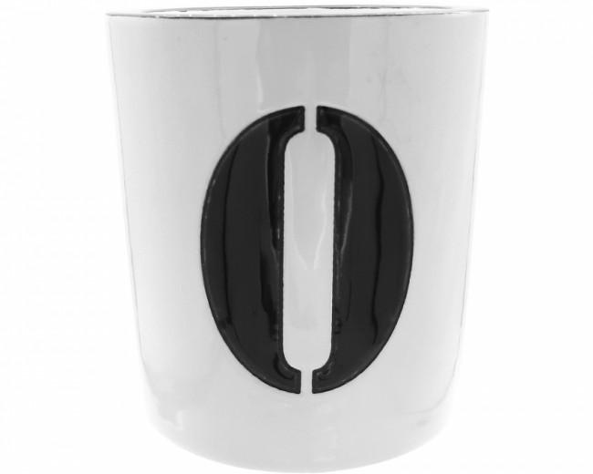 Pot à Bougie + Bougie (Number - 0)