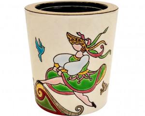 Pot à Bougie (Petrouchka) décor simple
