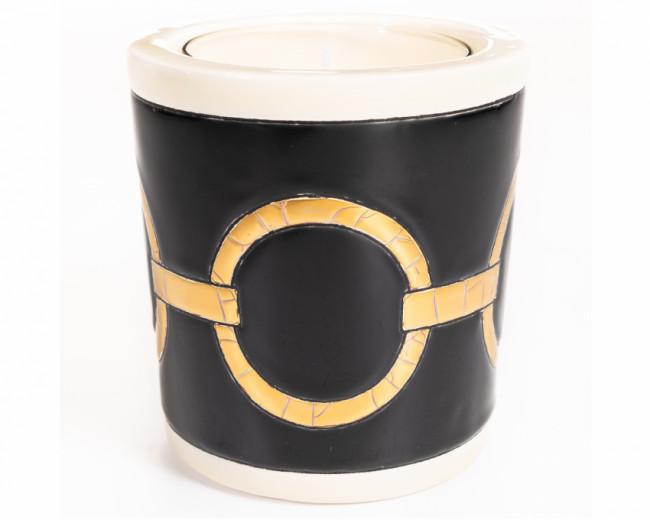 Pot à Bougie (Versus) IV + Bougie Parfumée