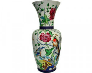 Vase à col GM Quiétude (Tradition)
