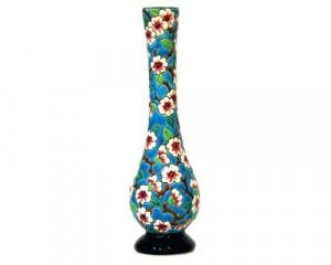 Vase Soliflore GM Fleurs de Pommiers (Tradition)