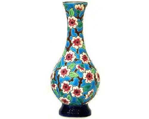 Vase Soliflore PM Fleurs de Pommiers (Tradition)