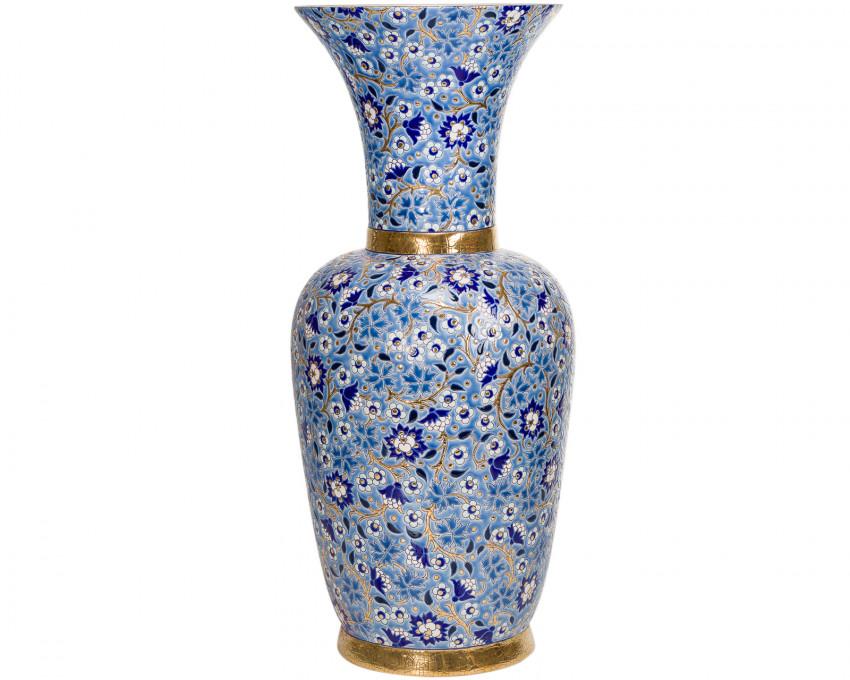 Grand Vase à Col D5670 - Bleu (Héritage)