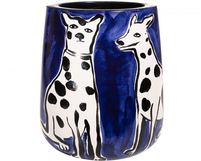 Vase Legacy Bleu G.M. Chien (En attendant les Fleurs)