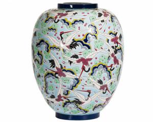 Vase Néo GM Les Aigrettes (Tradition)
