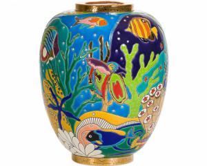 Vase Néo PM (Aqua Tropicale)