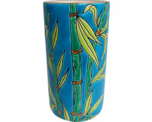 Vase Cornet H 17 cm (Bambou)