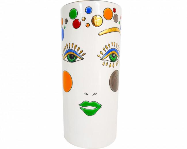 Vase Cornet H 20 cm (Happy Face)