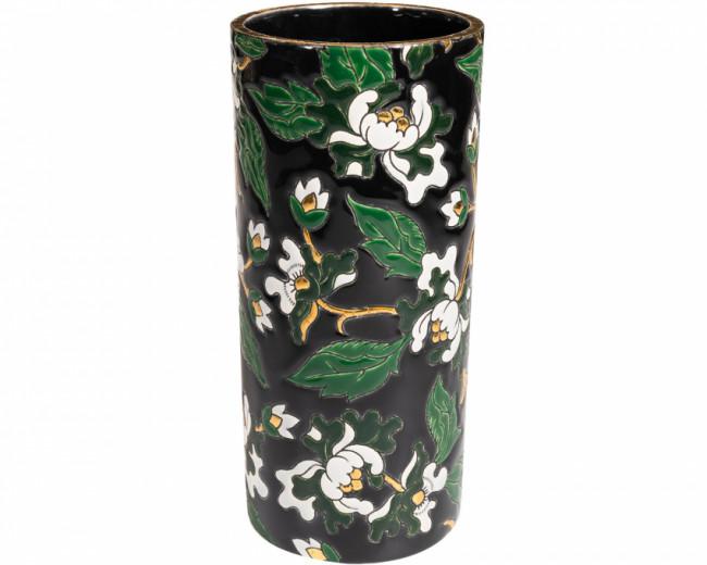 Vase Cornet H 14 cm - D5675 Noir (Héritage)