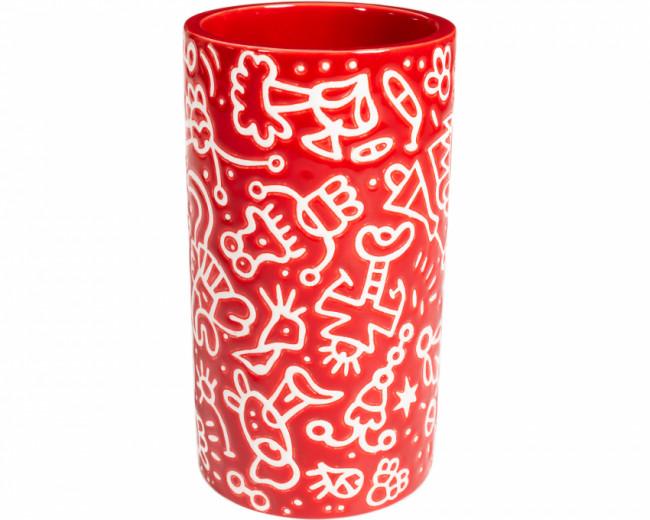 Vase Cornet H 17 cm (Kiss)