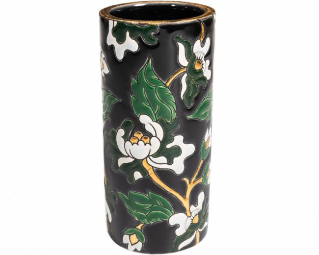 Vase Cornet H 20 cm - D5675 Noir (Héritage)