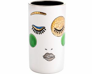 Vase Cornet H. 17 cm (Happy Face)