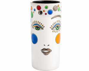 Vase Cornet H. 20 cm (Happy Face)