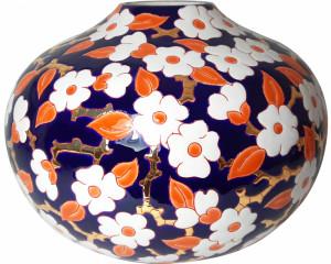 Vase Bilboquet Ouvert PM (Maxi Blue)
