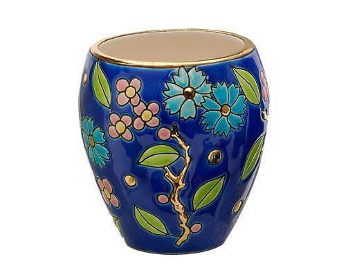 Vase PM (Fleur Bleue)