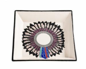 Cendrier Carré Evasé (Indians)