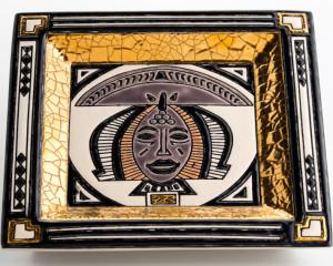 Vide-Poches Carré Standard (African Queen)