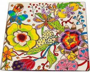 Vide-Poches Carré Standard (Flora)