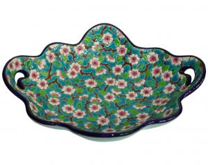 Corbeille à anses D188 Fleurs de Pommiers (Traditions)