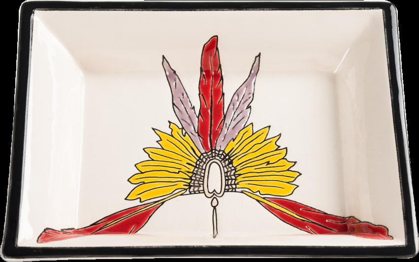 Cendrier Rectangulaire (Indians)